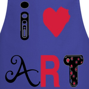 Heart art  Aprons - Cooking Apron