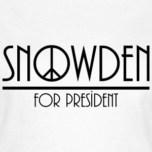 snowden for president T-Shirts - Women's T-Shirt