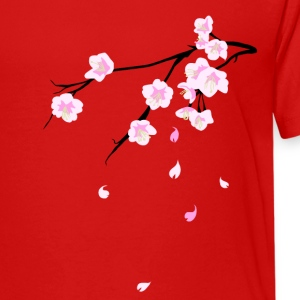 Cherry Blossoms Shirts - Teenage Premium T-Shirt