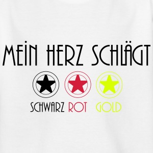 deutschland 2014 T-shirts - Teenager-T-shirt