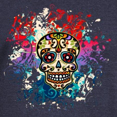 Mexican Sugar Skull - Day of the Dead Hoodies & Sweatshirts