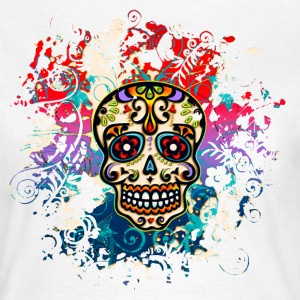 Mexican Sugar Skull - Day of the Dead T-Shirts - Women's T-Shirt