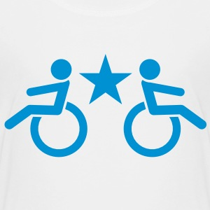 Wheelchairs cool star enabled design Shirts - Kids' Premium T-Shirt