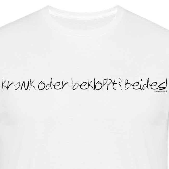 Spruch - KobB - Schrift Weiß