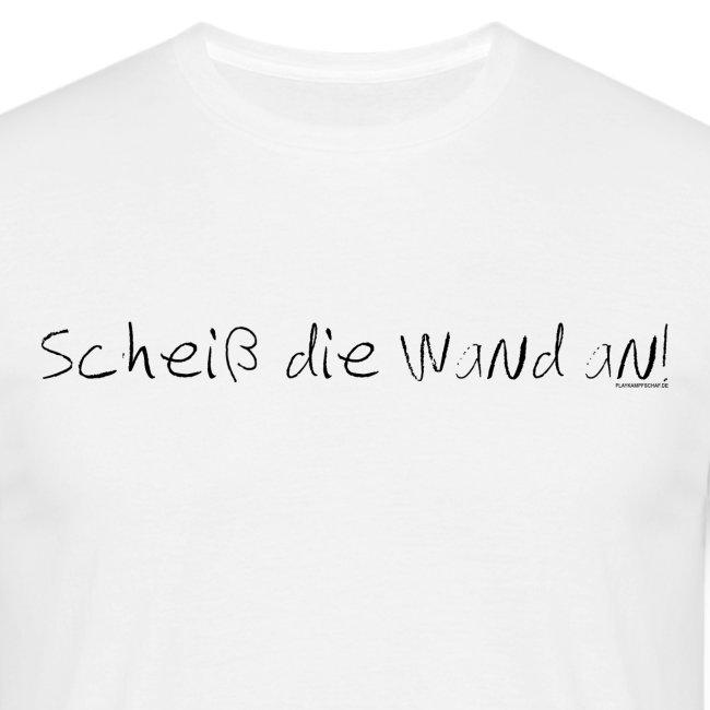 Spruch - SdWa - Schrift Schwarz