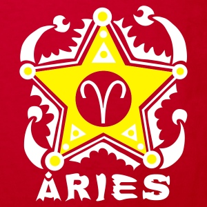 Sterrenbeeld Aries T-Shirt Design Shirts - Kinderen Bio-T-shirt