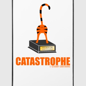Catastrophe: Rude Cat Joke by Sterry Cartoons Phone & Tablet Cases - iPhone 4/4s Hard Case