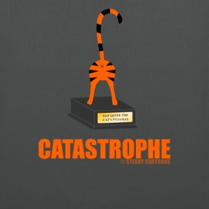 Catastrophe: Rude Cat Joke by Sterry Cartoons Bags & backpacks - Tote Bag