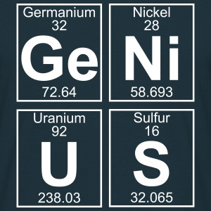 Periodic Element 32 - Ge (germanium) - BIG T-Shirts - Männer T-Shirt