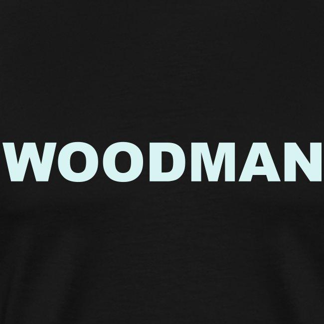 Reflective - WOODMAN + Spider V2, T-Shirt, F/B