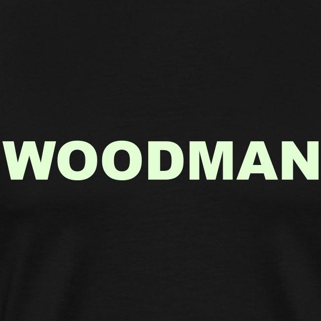 Glow in the dark - WOODMAN, T-Shirt