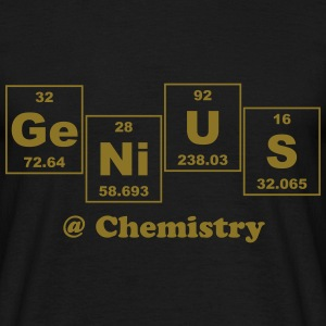 Genius @ Chemistry - Men's T-Shirt