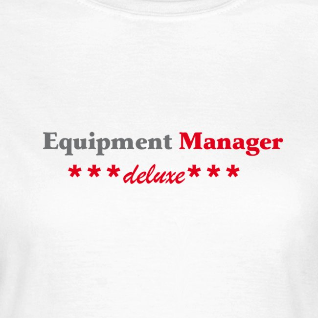 Equipment Manager deluxe