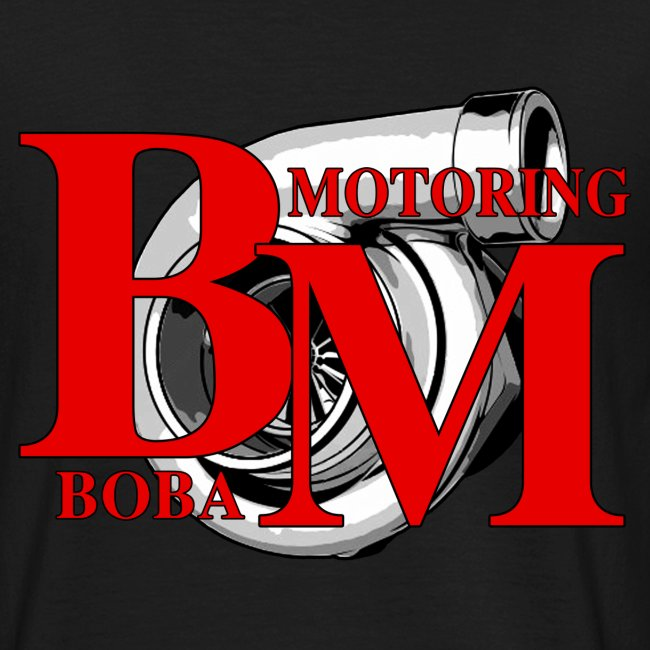Boba-Motoring Fan-Shirt Rückseite