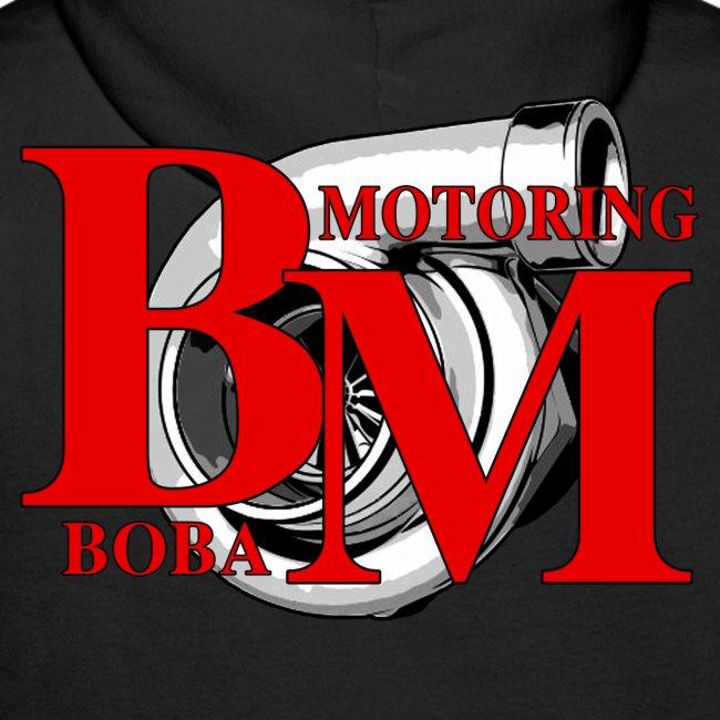 Boba-Motoring Fan-Pullover Rückseite