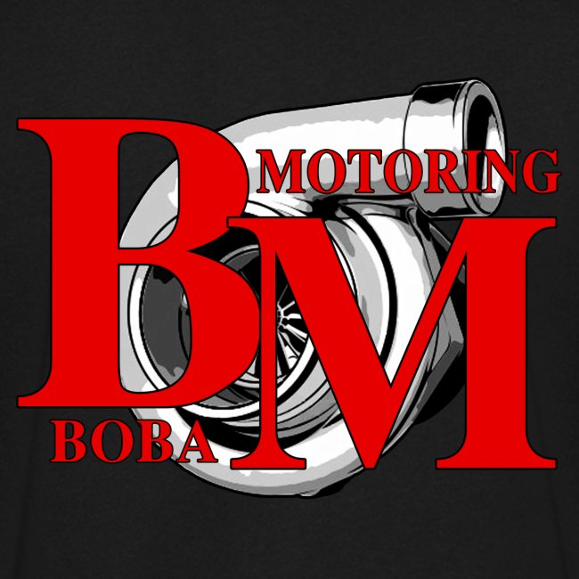 Boba-Motoring V-Fan-Shirt Rückseite
