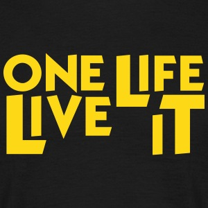 4x4 One Life Live it - T-shirt Homme