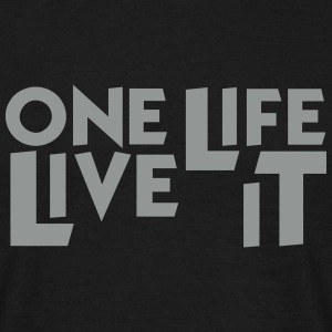 4x4 Offroad One Life Live it T-Shirt - Männer T-Shirt