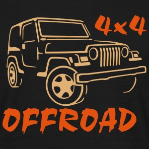 4x4 Off Road Jeep Rubicon T-Shirt - T-shirt Homme