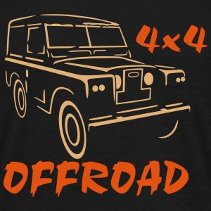 Land Rover Series 4x4 - T-shirt Homme
