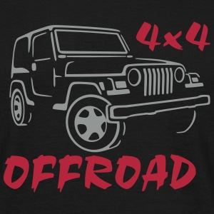 4x4 Off-Road Jeep T-Shirt - Mannen T-shirt