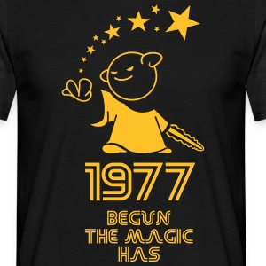 retro the magic 77 - Männer T-Shirt