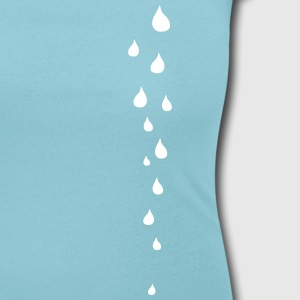 Falling Drops T-Shirts - Women's Scoop Neck T-Shirt