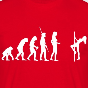 Evolution Tabledance Shirt - Männer T-Shirt