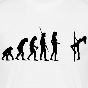 Table Dance Evolution  T-Shirts - Men's T-Shirt