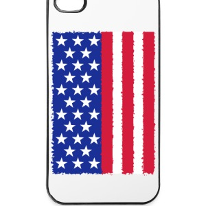USA Flagge Handy & Tablet Hüllen - iPhone 4/4s Hard Case