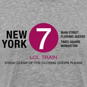 Männershirt New York City 7 Train - Männer Premium T-Shirt