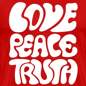 Love Peace Truth * Lifestyle 70s T-Shirts Goa Tee shirts - T-shirt Premium Homme
