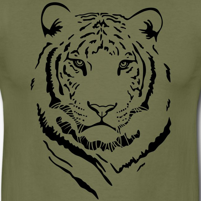 "Men's ""White Tiger #1"" T-Shirt"