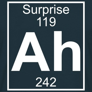 Ah - the Element of Surprise T-shirts - Herre-T-shirt