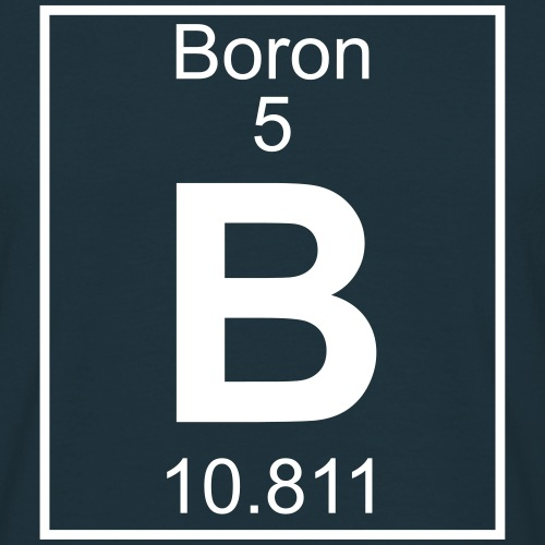 Boron (B) (element 5)