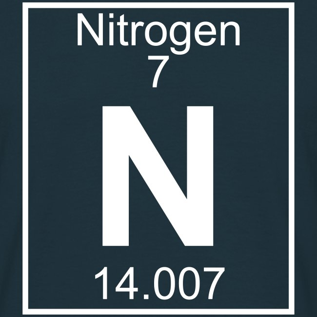 Periodic table words nitrogen n element 7 full 1 col shirt nitrogen n element 7 full 1 col shirt urtaz Gallery