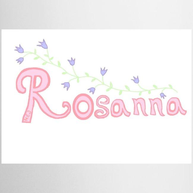 Rosanna mugg vänster