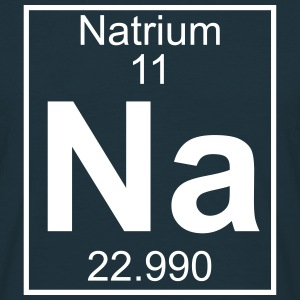 Periodic table element 11 - Na (natrium) - BIG T-shirts - Herre-T-shirt