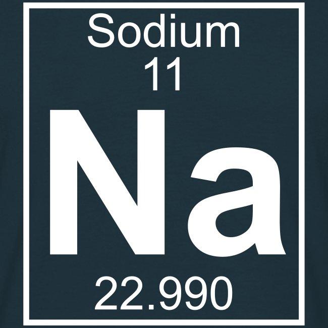 Periodic table words sodium na element 11 full 1 col shirt sodium na element 11 full 1 col shirt urtaz Choice Image