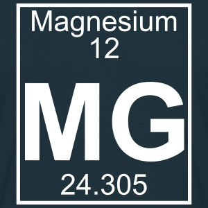 Periodic table element 12 - Mg (magnesium) - BIG T-Shirts - Männer T-Shirt