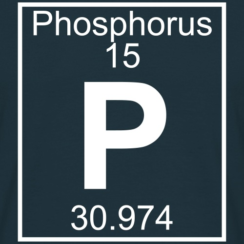Phosphorus (P) (element 15)