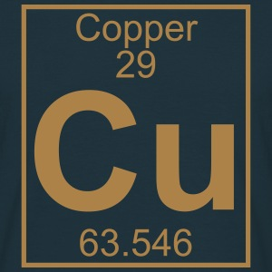 Element 29 - Cu (copper) - Full T-shirts - Herre-T-shirt