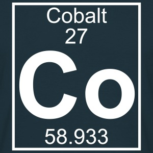 Periodic table element 27 - Co (cobalt) - BIG Camisetas - Camiseta hombre
