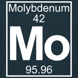 Periodic table element 42 -   (molybdenum) - BIG Magliette - Maglietta da uomo