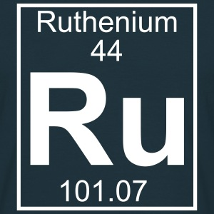 Periodic table element 44 - Ru (ruthenium) - BIG Koszulki - Koszulka męska