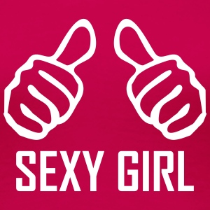 sexy girl T-Shirts - Frauen Premium T-Shirt
