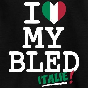 I love MY BLED Italie Shirts - Kids' T-Shirt