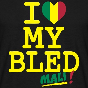 I love MY BLED Mali Tee shirts - T-shirt Homme