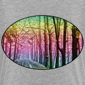 Nature - Rainbow - Forest - Park - Rural - Trees Shirts - Kids' Premium T-Shirt