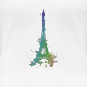 Paris Eifeltower - Frauen Premium T-Shirt